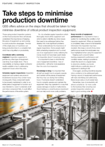 Our feature in Food Processing March 2021